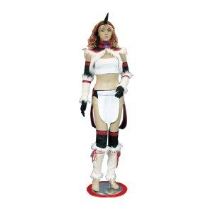 モンスターハンター キリン装備 原作版 風 コスプレ衣装 Monster Hunter / MHF - Kirin Armor Cosplay Costume
