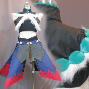 モンスターハンター カッコイイ腰装備 ミラバルカンスパイン 風 コスプレ衣装 Monster Hunter / MHF - Mira Balkan Spine Cosplay Costume