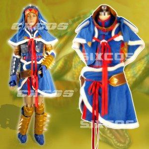 モンスターハンターポータブル3rd アシラ剣士 風 装備 コスプレ衣装 Monster Hunter/MHF - Cosplay Costume