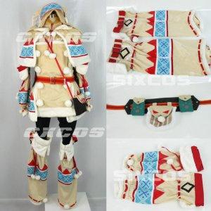 モンスターハンターポータブル3rd ウルク装備 風 コスプレ衣装 Monster Hunter / MHF Cosplay Costume