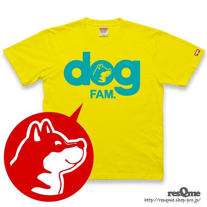 dog -柴犬- TEE (Yellow)