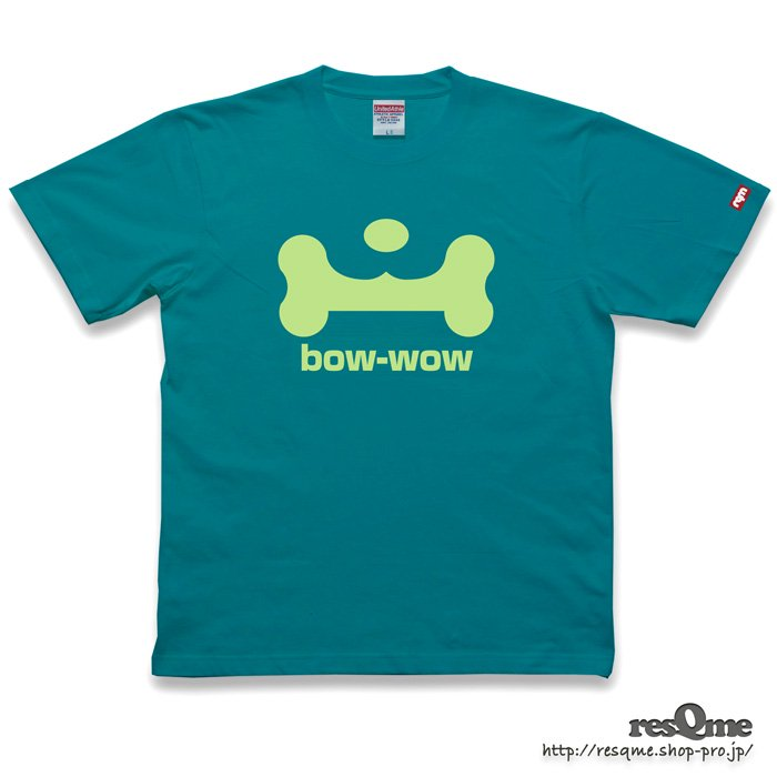 bow-wow TEE front (AppleGreen)