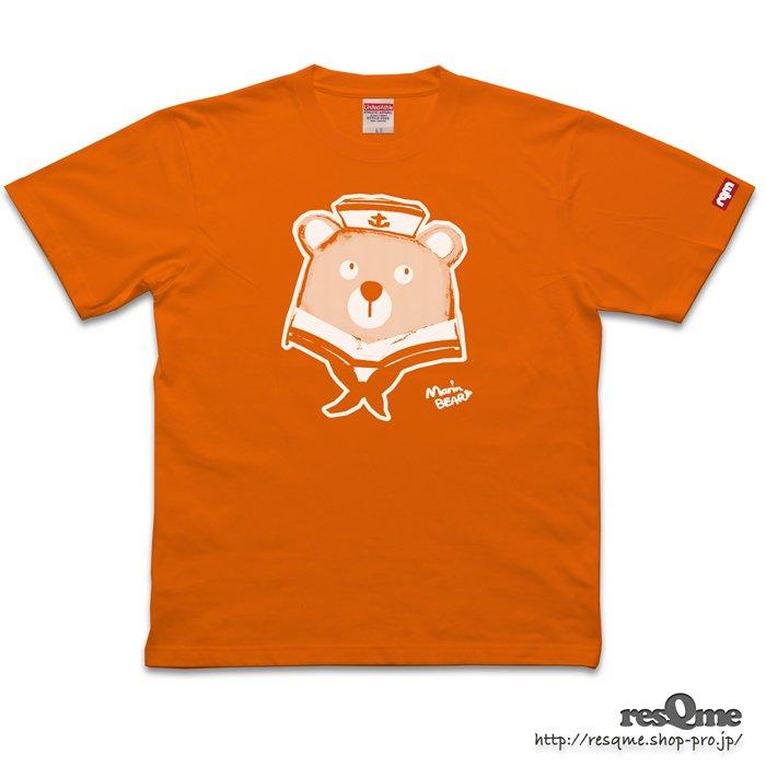 MarineBEAR01 TEE (Orange)