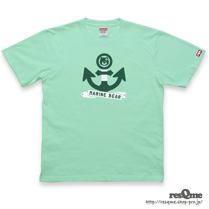 MarineBEAR03 -Anchor- TEE (Melon)
