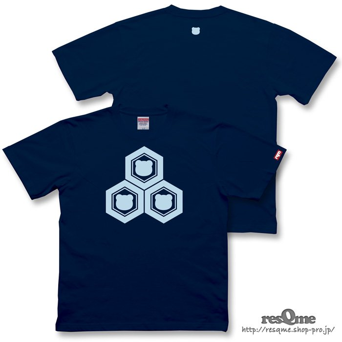 <img class='new_mark_img1' src='https://img.shop-pro.jp/img/new/icons1.gif' style='border:none;display:inline;margin:0px;padding:0px;width:auto;' />家紋CUB TEE (Indigo)