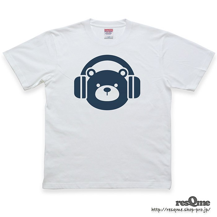 <img class='new_mark_img1' src='https://img.shop-pro.jp/img/new/icons1.gif' style='border:none;display:inline;margin:0px;padding:0px;width:auto;' />MUSIC-BEAR TEE (White01)