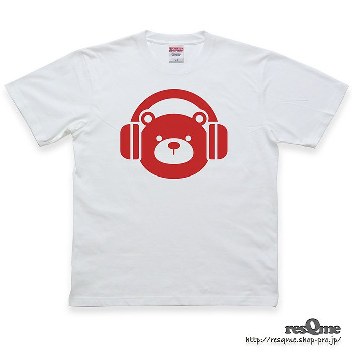 <img class='new_mark_img1' src='https://img.shop-pro.jp/img/new/icons1.gif' style='border:none;display:inline;margin:0px;padding:0px;width:auto;' />MUSIC-BEAR TEE (White02)