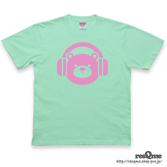 <img class='new_mark_img1' src='https://img.shop-pro.jp/img/new/icons1.gif' style='border:none;display:inline;margin:0px;padding:0px;width:auto;' />MUSIC-BEAR TEE (Melon)