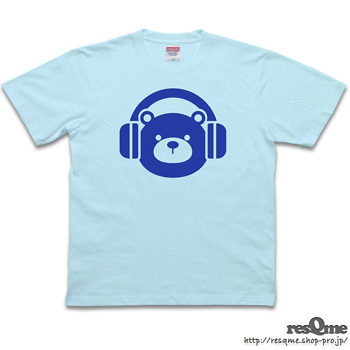<img class='new_mark_img1' src='https://img.shop-pro.jp/img/new/icons1.gif' style='border:none;display:inline;margin:0px;padding:0px;width:auto;' />MUSIC-BEAR TEE (LightBlue)