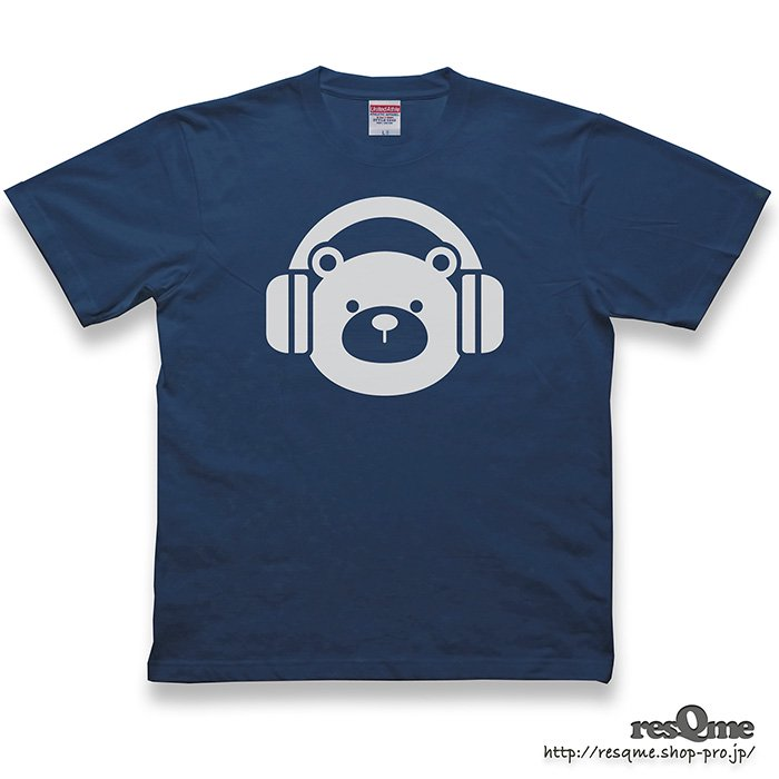 <img class='new_mark_img1' src='https://img.shop-pro.jp/img/new/icons1.gif' style='border:none;display:inline;margin:0px;padding:0px;width:auto;' />MUSIC-BEAR TEE (Navy)