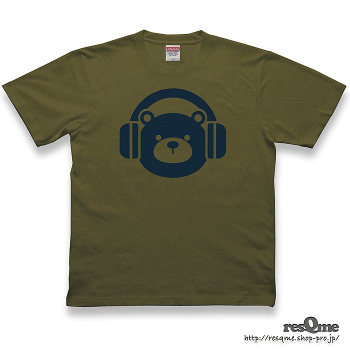 <img class='new_mark_img1' src='https://img.shop-pro.jp/img/new/icons1.gif' style='border:none;display:inline;margin:0px;padding:0px;width:auto;' />MUSIC-BEAR TEE (CityGreen)