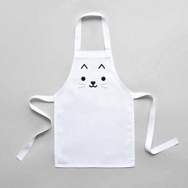 <img class='new_mark_img1' src='https://img.shop-pro.jp/img/new/icons8.gif' style='border:none;display:inline;margin:0px;padding:0px;width:auto;' />BUDDYANDBEAR バディーアンドベアー Cat Toddler Apron キッズエプロン