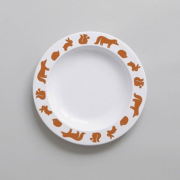 <img class='new_mark_img1' src='https://img.shop-pro.jp/img/new/icons8.gif' style='border:none;display:inline;margin:0px;padding:0px;width:auto;' />BUDDYANDBEAR バディーアンドベアー Woodland Animal Plate (Cinnamon)ウッドランドアニマル プレート