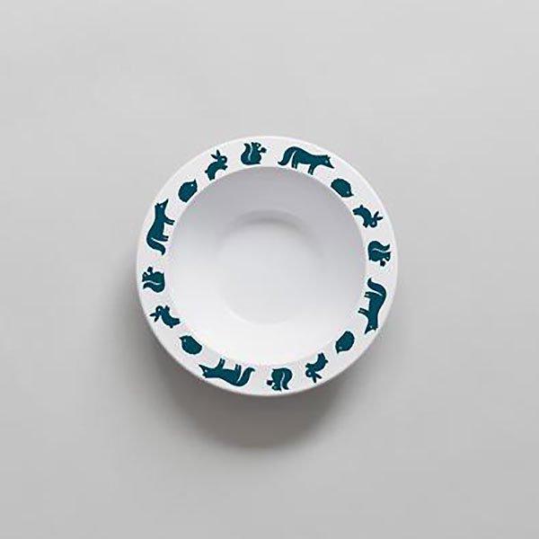 <img class='new_mark_img1' src='https://img.shop-pro.jp/img/new/icons8.gif' style='border:none;display:inline;margin:0px;padding:0px;width:auto;' />BUDDYANDBEAR バディーアンドベアー Woodland Animal Bowl (Ink) ウッドランドアニマルボウル