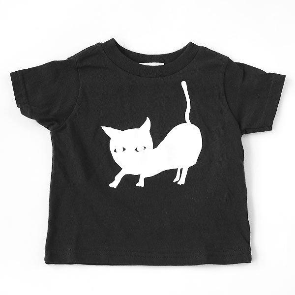 <img class='new_mark_img1' src='https://img.shop-pro.jp/img/new/icons8.gif' style='border:none;display:inline;margin:0px;padding:0px;width:auto;' />squeak スクイーク CAT半袖Tシャツ ブラック
