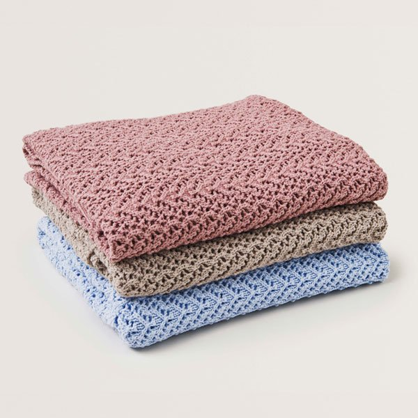 <img class='new_mark_img1' src='https://img.shop-pro.jp/img/new/icons8.gif' style='border:none;display:inline;margin:0px;padding:0px;width:auto;' />garbo&friends ガルボアンドフレンズ コットン&ウールブランケット Croshet Cotton/Wool Blanket