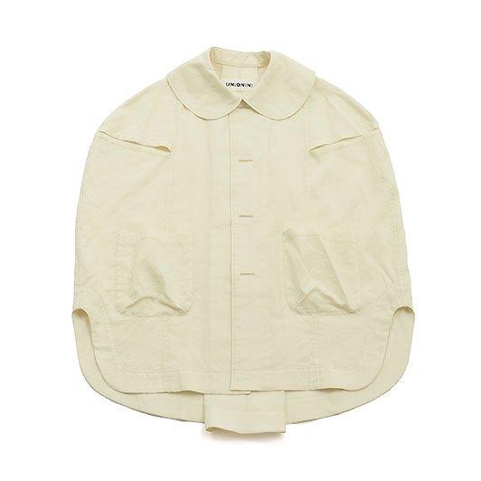 <img class='new_mark_img1' src='https://img.shop-pro.jp/img/new/icons8.gif' style='border:none;display:inline;margin:0px;padding:0px;width:auto;' />UNIONINI ユニオニーニ gauze work shirt ガーゼワークシャツ ホワイト