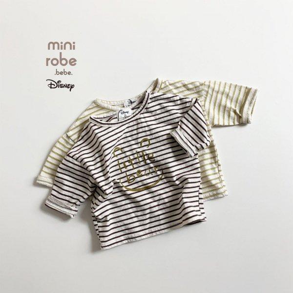 <img class='new_mark_img1' src='https://img.shop-pro.jp/img/new/icons8.gif' style='border:none;display:inline;margin:0px;padding:0px;width:auto;' />minirobe ミニローブ Little Bear 長袖Tシャツ