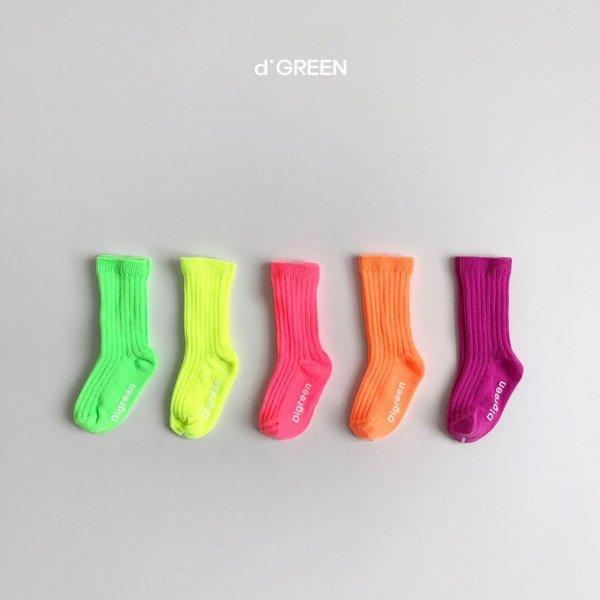 <img class='new_mark_img1' src='https://img.shop-pro.jp/img/new/icons8.gif' style='border:none;display:inline;margin:0px;padding:0px;width:auto;' />digreen ディグリーン neon socks  5色セットソックス