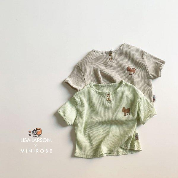 <img class='new_mark_img1' src='https://img.shop-pro.jp/img/new/icons8.gif' style='border:none;display:inline;margin:0px;padding:0px;width:auto;' />minirobe ミニローブ emil T-shirt 半袖Tシャツ