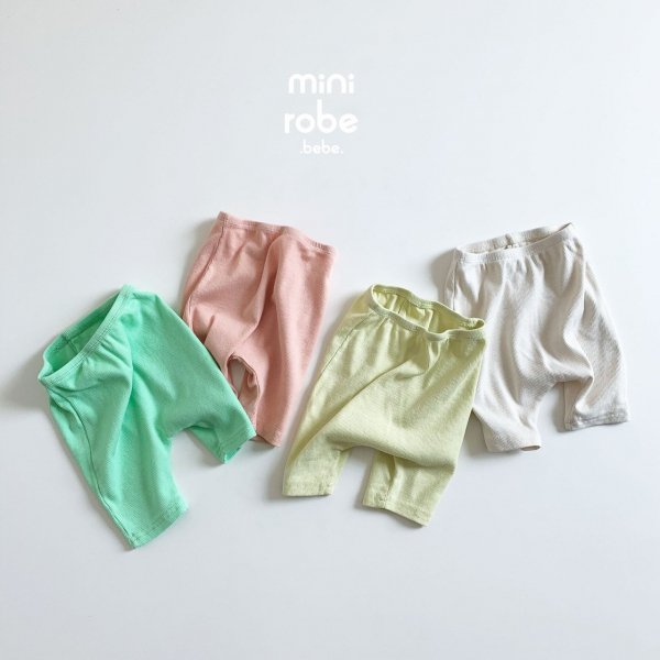 <img class='new_mark_img1' src='https://img.shop-pro.jp/img/new/icons8.gif' style='border:none;display:inline;margin:0px;padding:0px;width:auto;' />minirobe ミニローブ summer leggings レギンス