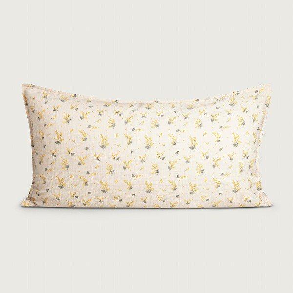 <img class='new_mark_img1' src='https://img.shop-pro.jp/img/new/icons8.gif' style='border:none;display:inline;margin:0px;padding:0px;width:auto;' />garbo&friends ガルボアンドフレンズ Mimosa Muslin Pillowcase 枕カバー