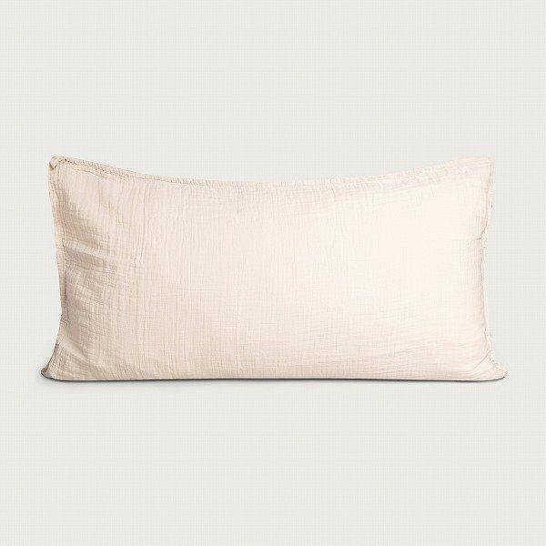 <img class='new_mark_img1' src='https://img.shop-pro.jp/img/new/icons8.gif' style='border:none;display:inline;margin:0px;padding:0px;width:auto;' />garbo&friends ガルボアンドフレンズ Eggshell Muslin Pillowcase 枕カバー