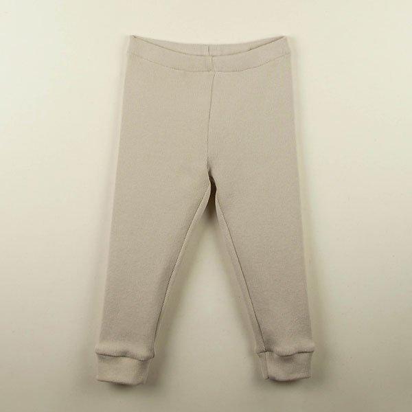 <img class='new_mark_img1' src='https://img.shop-pro.jp/img/new/icons8.gif' style='border:none;display:inline;margin:0px;padding:0px;width:auto;' />Popelin ポペリン Mod.10.1 Beige cotton leggings レギンス