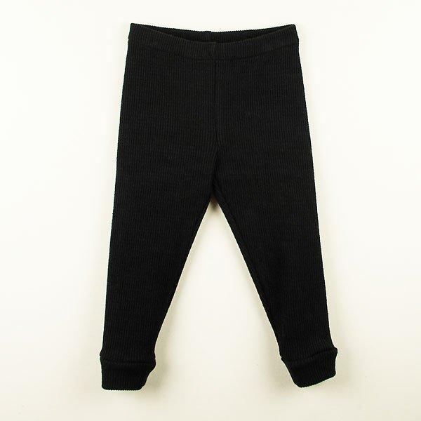 <img class='new_mark_img1' src='https://img.shop-pro.jp/img/new/icons8.gif' style='border:none;display:inline;margin:0px;padding:0px;width:auto;' />Popelin ポペリン Mod.10.3 Black cotton leggings レギンス
