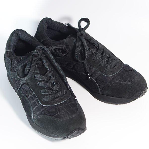 <img class='new_mark_img1' src='https://img.shop-pro.jp/img/new/icons8.gif' style='border:none;display:inline;margin:0px;padding:0px;width:auto;' />《予約販売》UNIONINI ユニオニーニ metelassé sneakers スニーカー ブラック