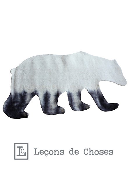 <img class='new_mark_img1' src='https://img.shop-pro.jp/img/new/icons24.gif' style='border:none;display:inline;margin:0px;padding:0px;width:auto;' />Lecons de choses ルコンドショセス Carpet BEAR タイダイ熊ラグ