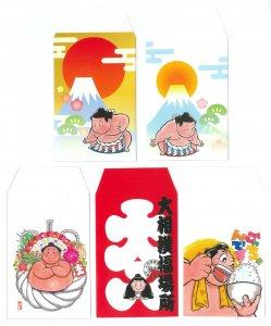 琴剣ポチ袋(5枚入)