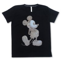 <img class='new_mark_img1' src='https://img.shop-pro.jp/img/new/icons49.gif' style='border:none;display:inline;margin:0px;padding:0px;width:auto;' />glamb -  Staff notation Mickey Print T