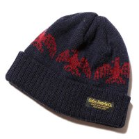 <img class='new_mark_img1' src='https://img.shop-pro.jp/img/new/icons49.gif' style='border:none;display:inline;margin:0px;padding:0px;width:auto;' />CALEE - Eagle knit cap