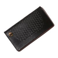 <img class='new_mark_img1' src='https://img.shop-pro.jp/img/new/icons49.gif' style='border:none;display:inline;margin:0px;padding:0px;width:auto;' />CALEE - EMBOSSING LEATHER LONG WALLET