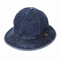 <img class='new_mark_img1' src='https://img.shop-pro.jp/img/new/icons49.gif' style='border:none;display:inline;margin:0px;padding:0px;width:auto;' />CALEE - Stitched denim metro hat