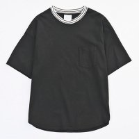 <img class='new_mark_img1' src='https://img.shop-pro.jp/img/new/icons49.gif' style='border:none;display:inline;margin:0px;padding:0px;width:auto;' />VICTIM - NECK BORDER BIG TEE