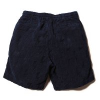 <img class='new_mark_img1' src='https://img.shop-pro.jp/img/new/icons49.gif' style='border:none;display:inline;margin:0px;padding:0px;width:auto;' />CALEE - Indigo jacquard pile short pants
