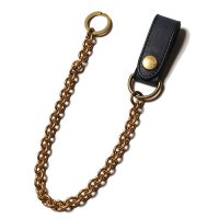 <img class='new_mark_img1' src='https://img.shop-pro.jp/img/new/icons49.gif' style='border:none;display:inline;margin:0px;padding:0px;width:auto;' />CALEE - Indigo leather wallet chain