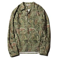 <img class='new_mark_img1' src='https://img.shop-pro.jp/img/new/icons49.gif' style='border:none;display:inline;margin:0px;padding:0px;width:auto;' />CALEE - Print nel paisley pattern L/S shirt