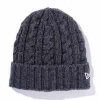 <img class='new_mark_img1' src='https://img.shop-pro.jp/img/new/icons49.gif' style='border:none;display:inline;margin:0px;padding:0px;width:auto;' />NEWERA - Low Gauge Cuff Knit Wool Blend