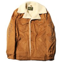 <img class='new_mark_img1' src='https://img.shop-pro.jp/img/new/icons49.gif' style='border:none;display:inline;margin:0px;padding:0px;width:auto;' />CALEE - Fake suede ranch boa coat
