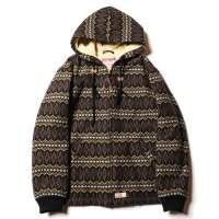 <img class='new_mark_img1' src='https://img.shop-pro.jp/img/new/icons49.gif' style='border:none;display:inline;margin:0px;padding:0px;width:auto;' />CALEE - Jacquard hooded boa jacket
