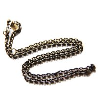 <img class='new_mark_img1' src='https://img.shop-pro.jp/img/new/icons49.gif' style='border:none;display:inline;margin:0px;padding:0px;width:auto;' />CALEE - NECKLACE CHAIN BRASS