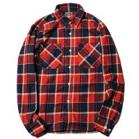 <img class='new_mark_img1' src='https://img.shop-pro.jp/img/new/icons49.gif' style='border:none;display:inline;margin:0px;padding:0px;width:auto;' />CALEE - L/S Indigo check shirt
