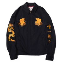 <img class='new_mark_img1' src='https://img.shop-pro.jp/img/new/icons49.gif' style='border:none;display:inline;margin:0px;padding:0px;width:auto;' />CALEE - Twill souvenir jacket