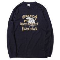 <img class='new_mark_img1' src='https://img.shop-pro.jp/img/new/icons49.gif' style='border:none;display:inline;margin:0px;padding:0px;width:auto;' />CALEE - Eagle print L/S t-shirt