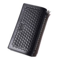 <img class='new_mark_img1' src='https://img.shop-pro.jp/img/new/icons49.gif' style='border:none;display:inline;margin:0px;padding:0px;width:auto;' />CALEE - Embossing leather wallet