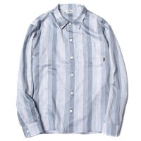 <img class='new_mark_img1' src='https://img.shop-pro.jp/img/new/icons49.gif' style='border:none;display:inline;margin:0px;padding:0px;width:auto;' />CALEE - Satin paisley stripe L/S shirt