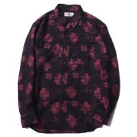 <img class='new_mark_img1' src='https://img.shop-pro.jp/img/new/icons49.gif' style='border:none;display:inline;margin:0px;padding:0px;width:auto;' />CALEE - Jacquard L/S shirt